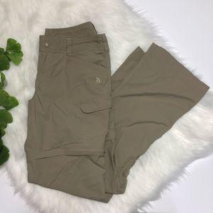 The North Face   Women's Zip Away Hiking Tan Pant